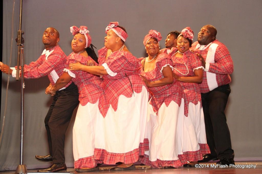 Braata Folk Singers in performance