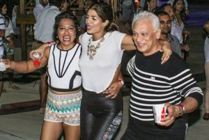 Finesse feters partied poolside at La Vega to the DJs' pulsating Soca selections