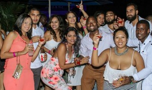 Finesse partiers said 'Cheers to Life' at the premium all inclusive affair