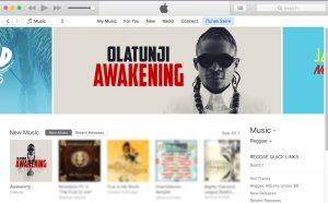 Awakening receives top banner on the iTunes U.S. Reggae section.