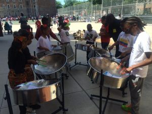 After School SteelPan P.S.135 Sheldon A. Brookner