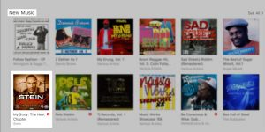 My Story: The Next Chapter receives a feature on iTunes U.S. Reggae section, during week of release.