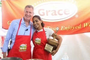 NY 7th Annual Staging of the Grace Jamaican Jerk Festival a Success